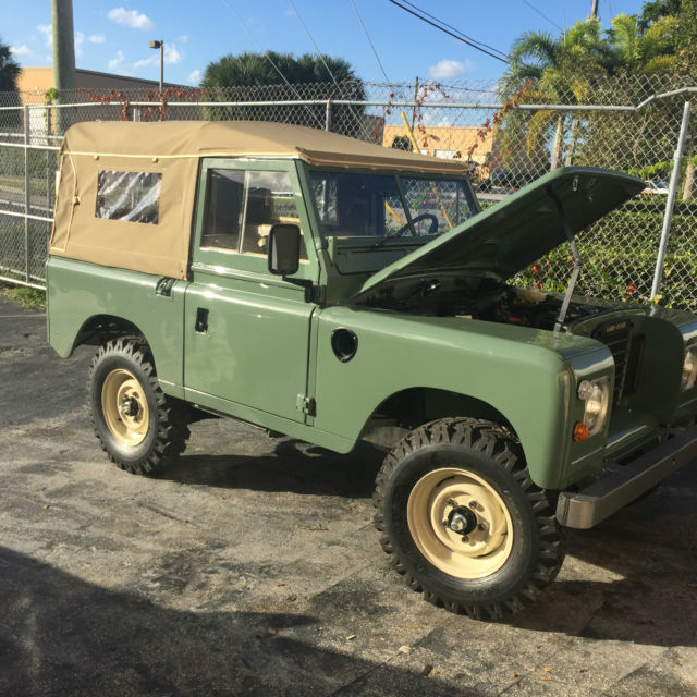 Classic Land Rover Series III
