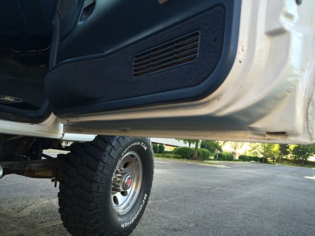 Late 1994 F250 xlt ext cab 4x4 manual 7.3 powerstroke ...