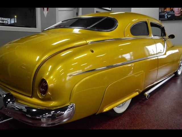 Lead Sled Custom Paint And Interior Gold Metal Flake 350