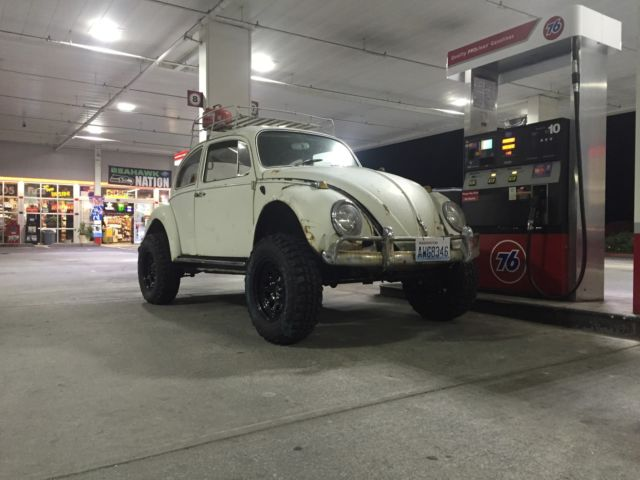 Lowered Volkswagen Beetle further Lifted Baja Bug Lift Tall Tires as well Volkswagen Tanner Foust Racing Eneos Rwb Beetle further Ebay likewise . on vw beetle daily driver