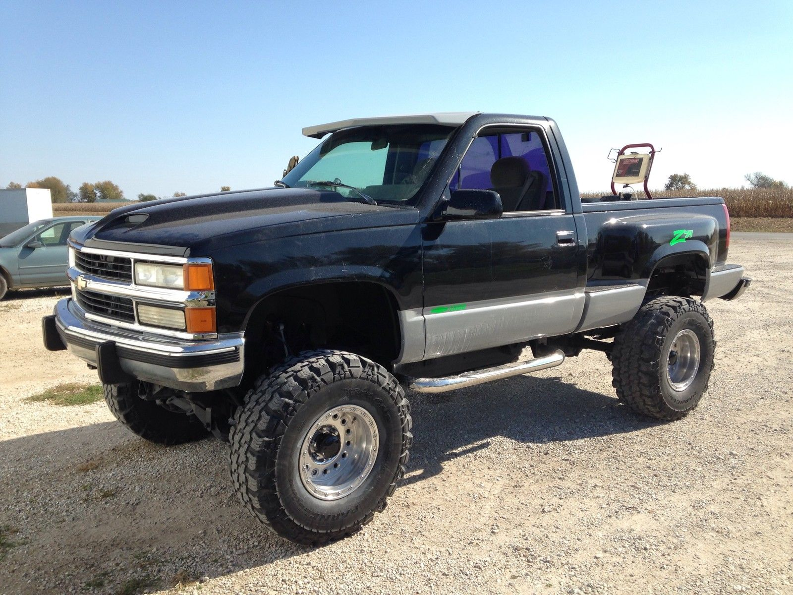 Lifted 1994 Chevy 1500 Step Side Short Bed