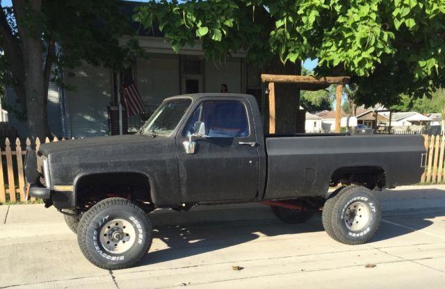 Lifted Chevy Truck 86 K10 Silverado