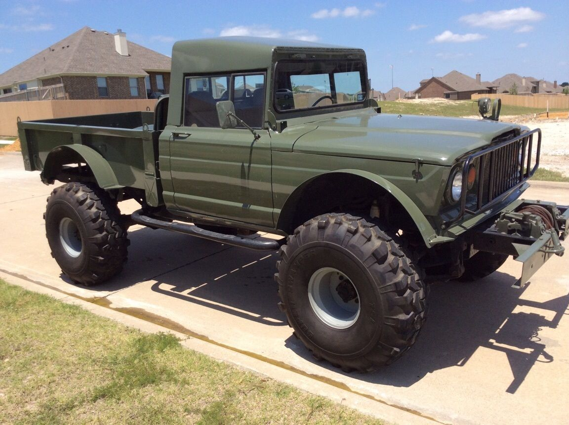 Jeep Rock Crawler Lifted Jeep Hummer M715 Military Rock Crawler Truck Kaiser