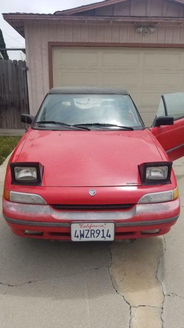 Like a miata but with turbo power classic mercury for 1991 mercury capri window motor