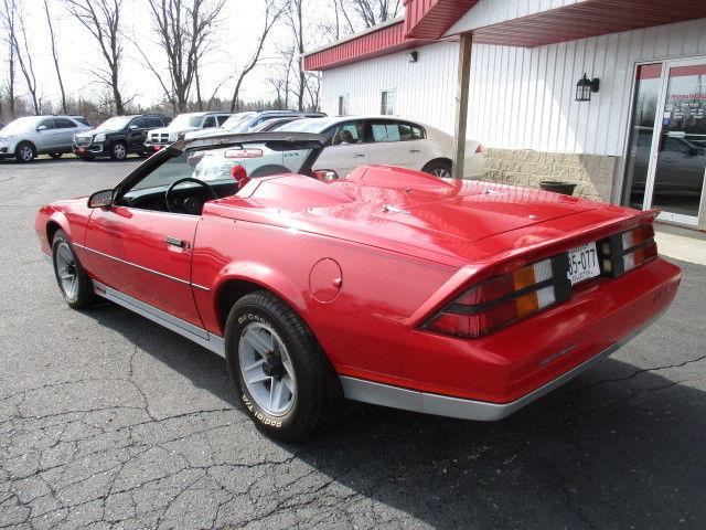 Limited Stiletto Edition 1983 Chevrolet Camaro Convertible