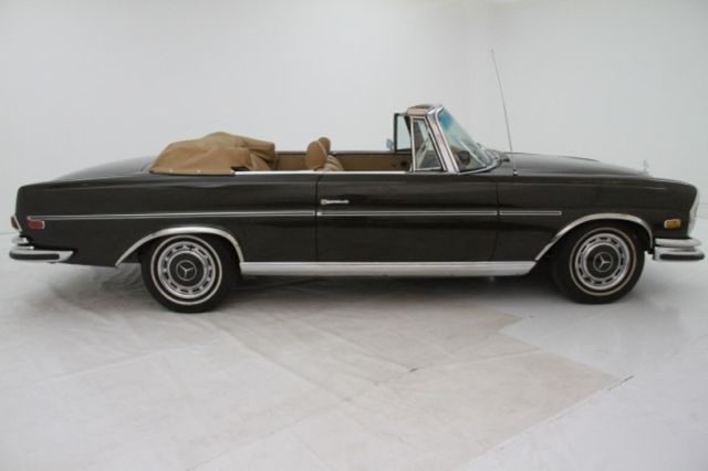 Low Grille Cabriolet Brown Canvas Soft Top Behr AC Becker