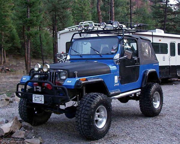 low reserve 1993 jeep wrangler yj major lift off road rock crawler 2 door 4 0l classic jeep. Black Bedroom Furniture Sets. Home Design Ideas