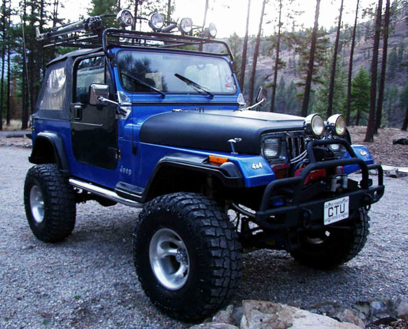 Low Reserve 1993 Jeep Wrangler Yj Major Lift Off Road