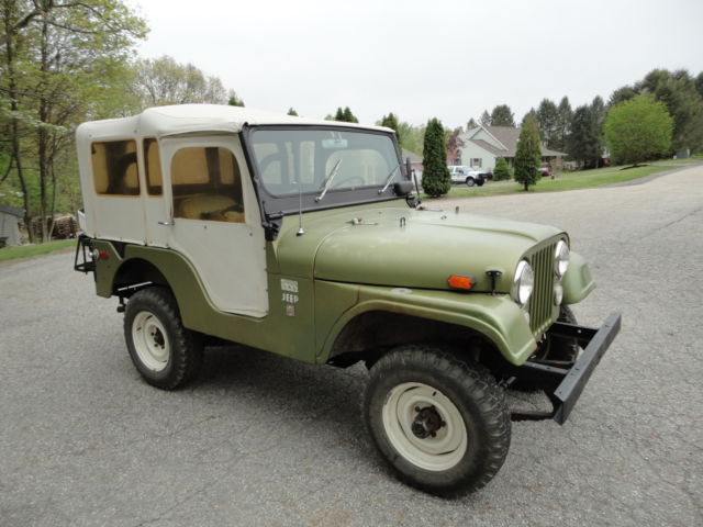 Owner Type Jeep Lowered >> LOWERED RESERVE 1970 CJ5 JEEP ORIGINAL 1 OWNER 35000 MILES CALIFORNIA JEEP V6 - Classic Jeep ...