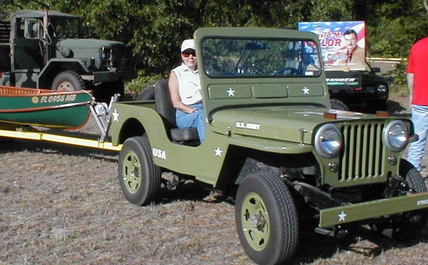M-38 M38 Army Jeep Replica Suzuki Samurai CJ3 339 miles ...