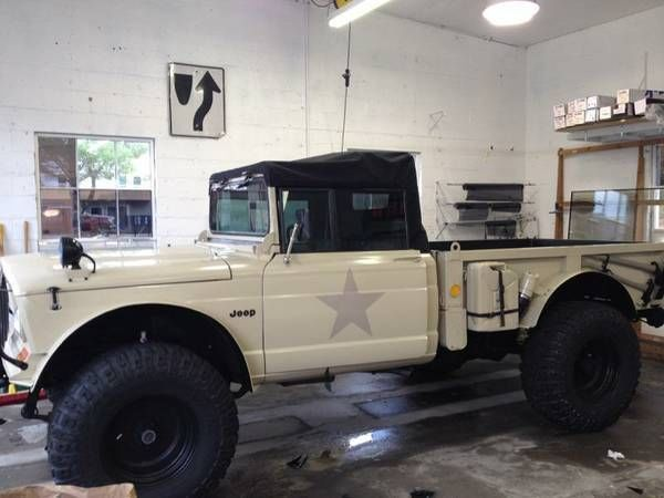 m 715 jeep kaiser military pickup classic jeep other 1967 for sale. Black Bedroom Furniture Sets. Home Design Ideas