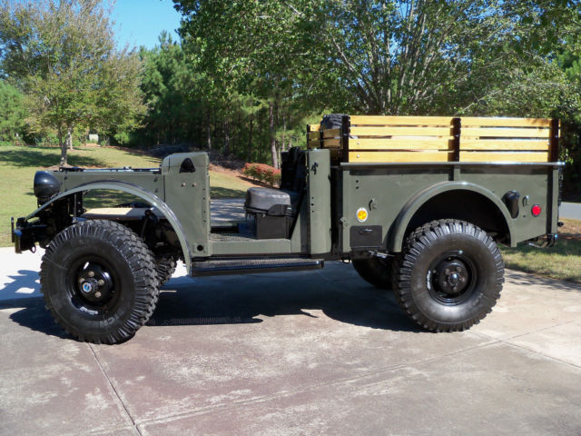 Dodge Power Wagon For Sale >> M37 Marine military 1954 Dodge Power Wagon and M101 ...