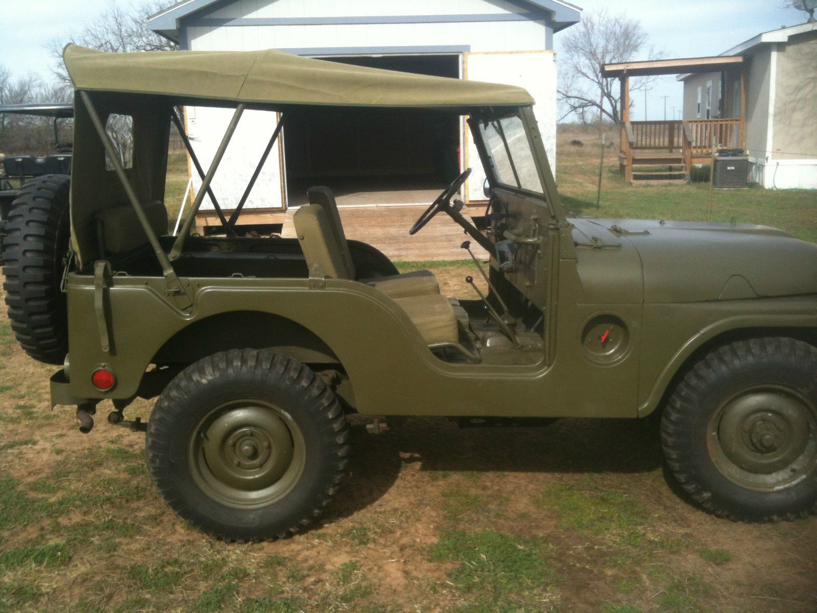 m38a1 military jeep classic willys jeep m38a1 1953 for sale. Black Bedroom Furniture Sets. Home Design Ideas