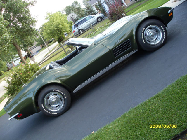 Make Offer Matching Numbers 1970 C3 Corvette Convertible