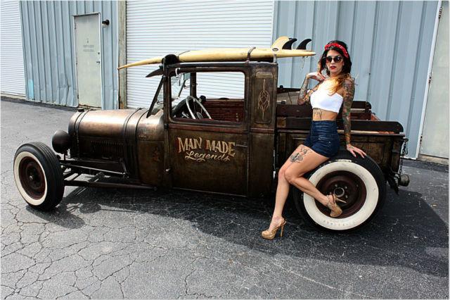 Man Made Legends Pro Built Shop Truck 302 C4 Surf No Rat