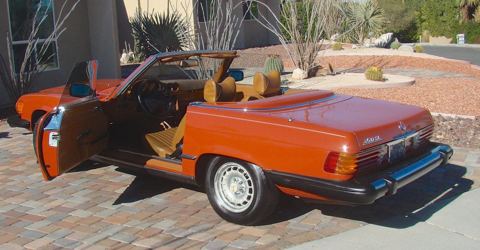 mercedes 450 sl convertible roadster 1979 r107 no reserve classic mercedes benz sl class 1979. Black Bedroom Furniture Sets. Home Design Ideas
