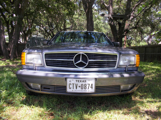 Mercedes 560 sec w126 coupe 1990 classic mercedes benz s for Mercedes benz w126 for sale