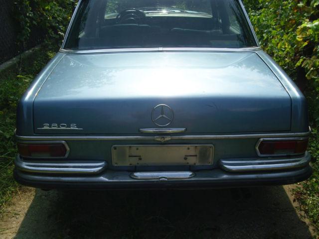 Mercedes benz 280s 1969 veteran classic mercedes benz for Mercedes benz used parts miami