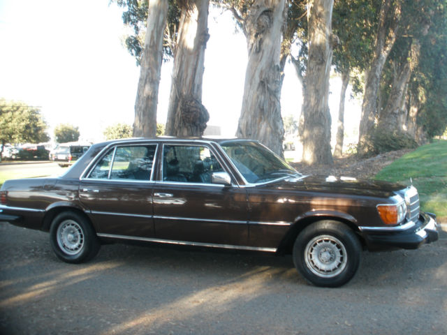 Mercedes benz 300 sd base sedan w116 nice leather for 1980 mercedes benz 300sd