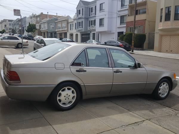 Mercedes benz 300se 61 000 orginal miles 500sel 400sel for Mercedes benz 400 se
