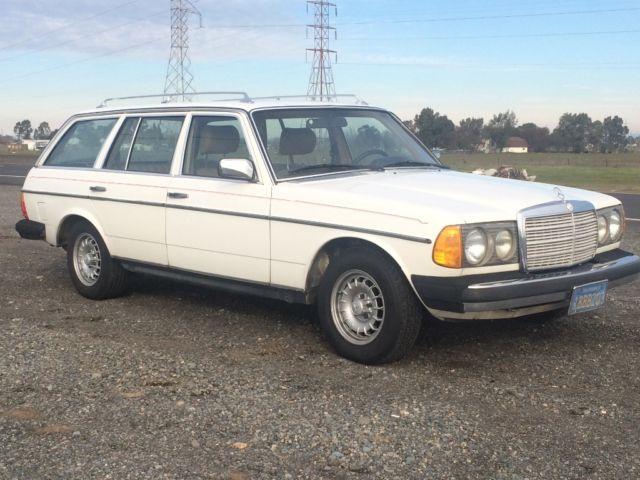 Mercedes benz 300td wagon om617 5 cylinder diesel 240d for Mercedes benz om617