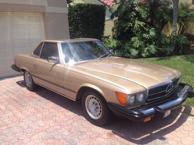 Mercedes benz 380sl 1981 mint condition original parts for Mercedes benz for sale by owner in florida