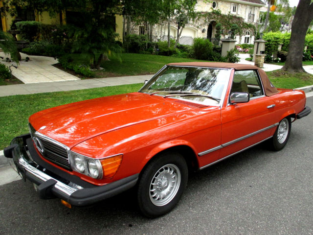 Mercedes benz 450 sl roadster 1978 one owner california for Mercedes benz of fairfield california