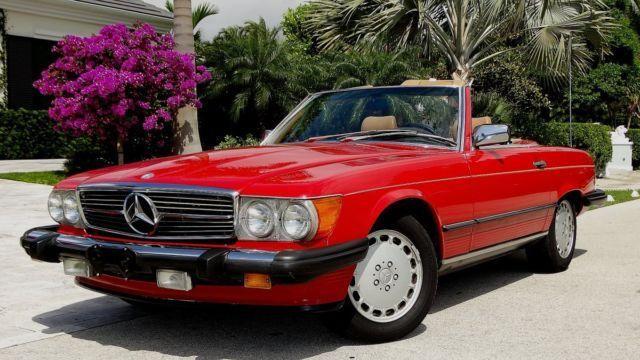 Mercedes benz 560sl 1987 Classic Mercedes Benz 500