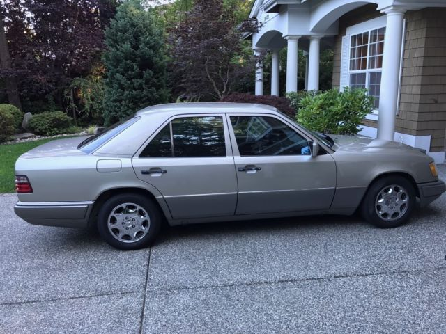 Mercedes benz e420 immaculate 1994 silver low mileage for Mercedes benz e320 service e