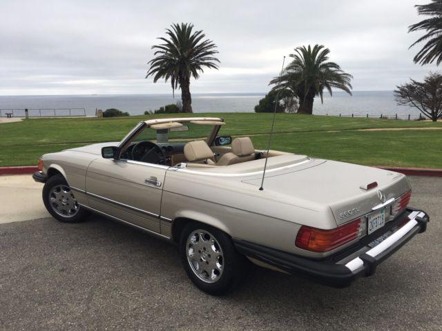 Mercedes Benz Sl560 560sl 560 R107 Classic Roadster Low