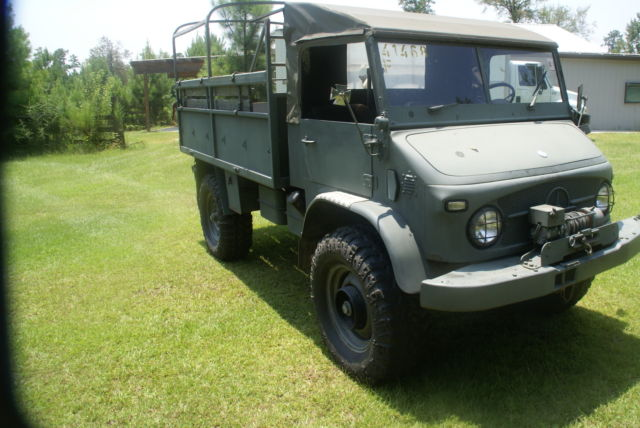 Mercedes unimog 4x4 truck jeep army off road 1962 no for Mercedes benz truck 4x4