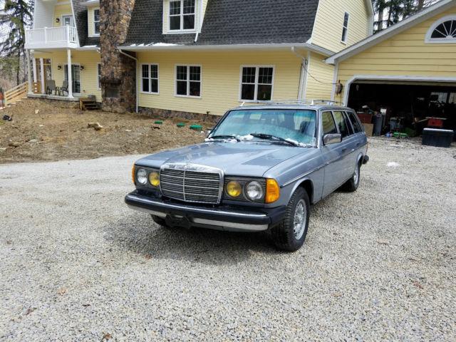 Mercedes wagon 300td turbo turbo diesel w123 for 1983 mercedes benz 300td