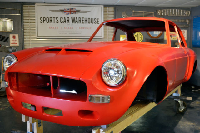 Mgb Gt Sebring Tribute Project Ready For Completion