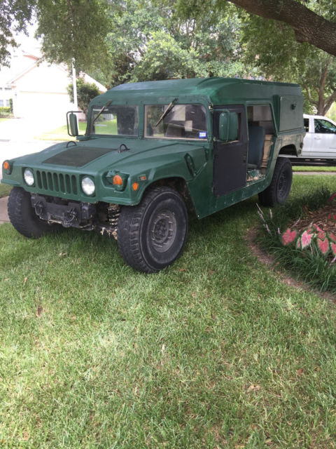 Military Humvee Ambulance Classic Hummer H1 1987 For Sale