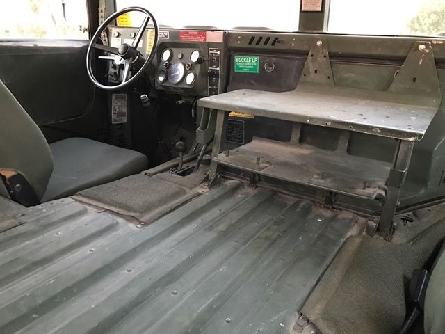 Military Humvee California Title And Reg No Reserve
