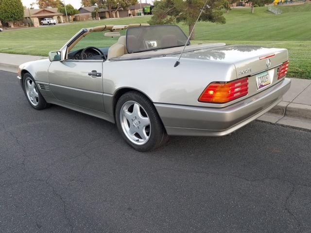 mint rust free 1991 mercedes benz 300sl r129 roadster 2. Black Bedroom Furniture Sets. Home Design Ideas