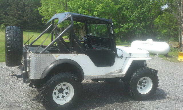 Modified 1947 Willys Jeep Cj2a Reliable Professionally