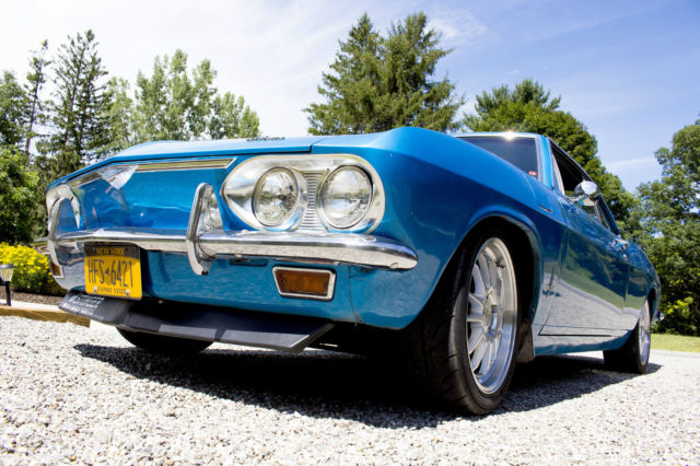 Modified 1966 Corvair 140 4-Speed - Wilwood Brakes, Cammed