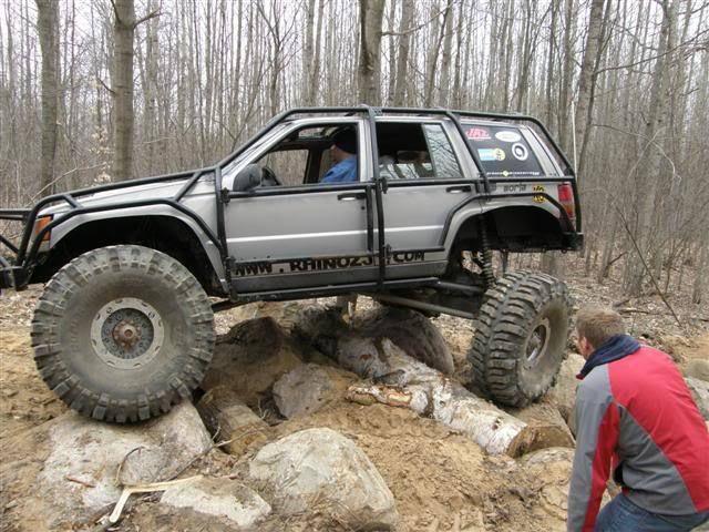 Monster Jeep Grand Cherokee Zj X Rock Crawler Bogger on 1994 Grand Cherokee Laredo