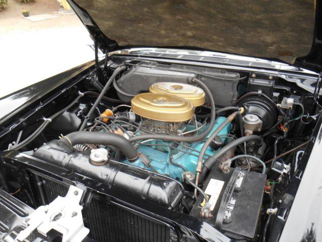 Mopar Chrysler H Convertible Dual Quad Black on Chrysler Convertible Top Parts