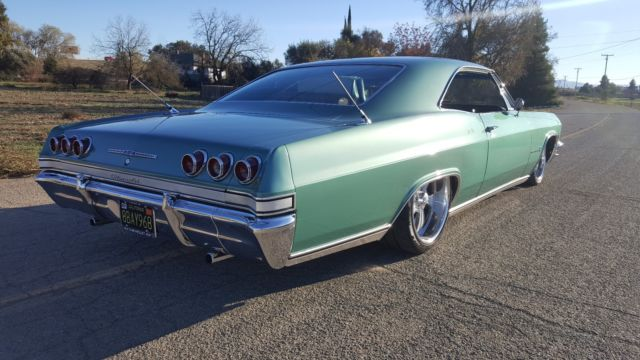 Must See 1965 Chevy Impala 327 Airride Ps Pb Tilt