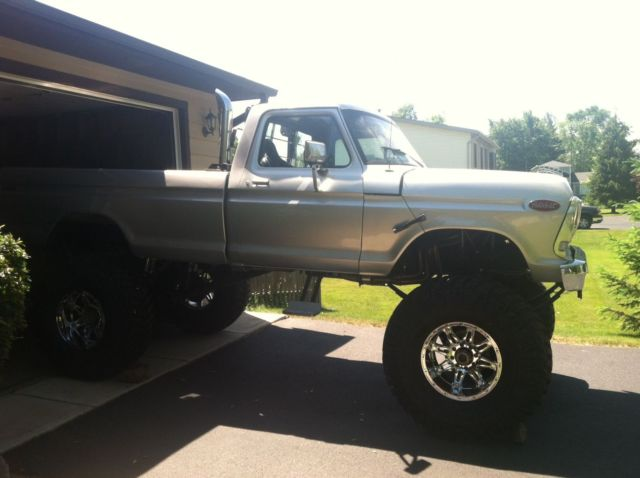 Must Sell 78 Ford F250 Monster Truck Brand New Parts