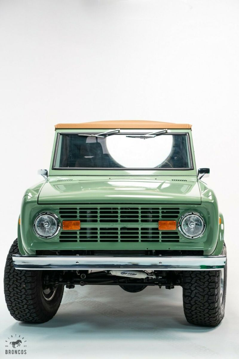 New Ford Bronco w all new parts: v8 motor, paint, interior ...