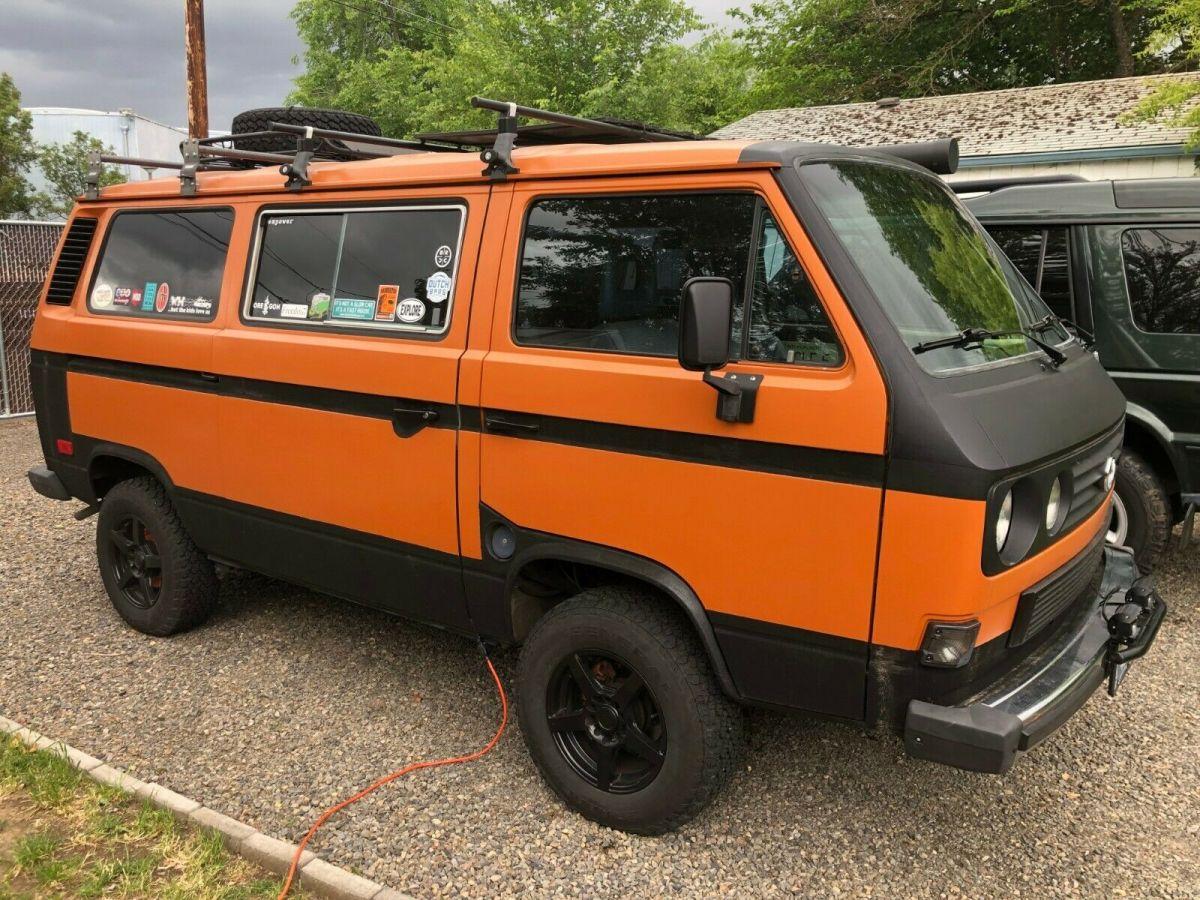 New Year New Van  1986 Volkswagen Bus  Vanagon