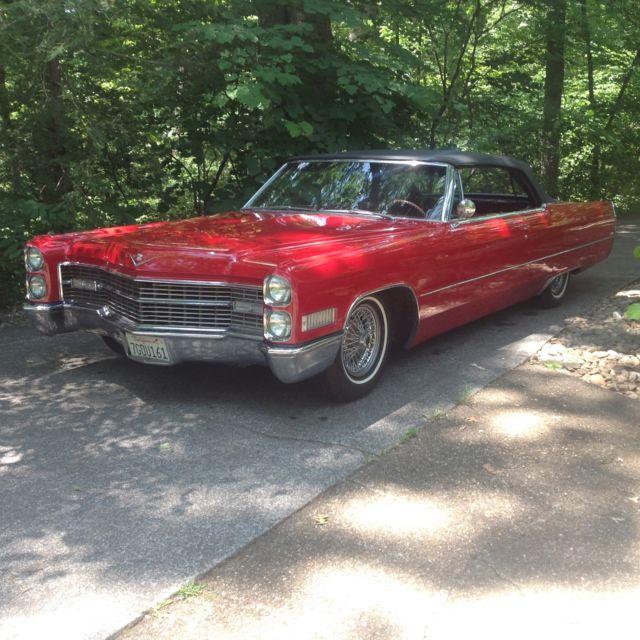 Nice 1966 Cadillac Convertible