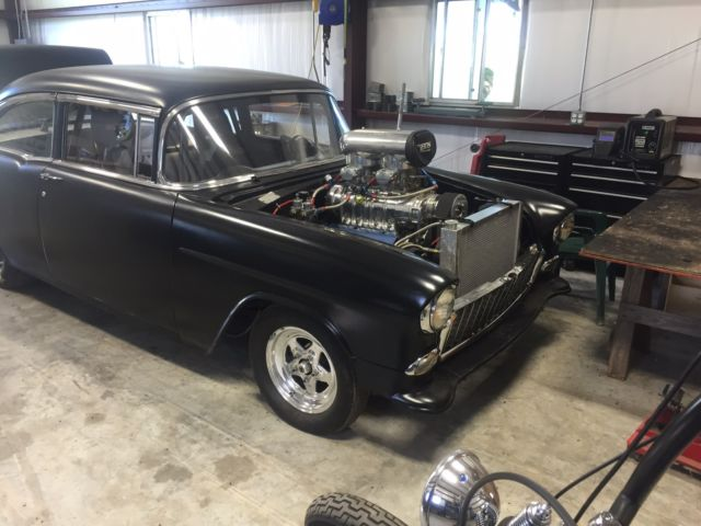nice 55 chevy blown 548ci big block classic chevrolet bel air 150 210 1955 for sale. Black Bedroom Furniture Sets. Home Design Ideas