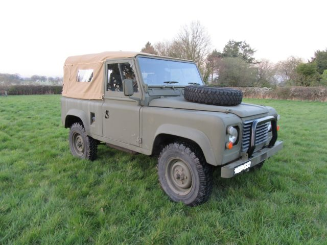 nice clean genuine soft top model classic land rover defender 1980 for sale. Black Bedroom Furniture Sets. Home Design Ideas