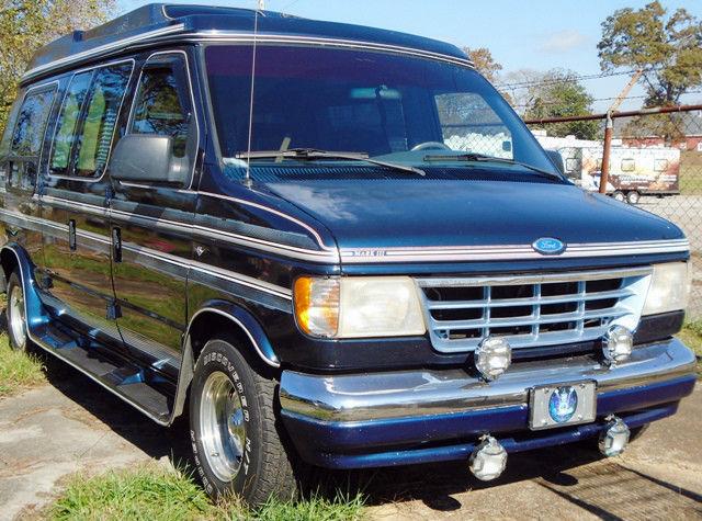 Conversion Van Parts >> Nice Ford E150 1992 Conversion Van Mark 3 00 In New Parts W