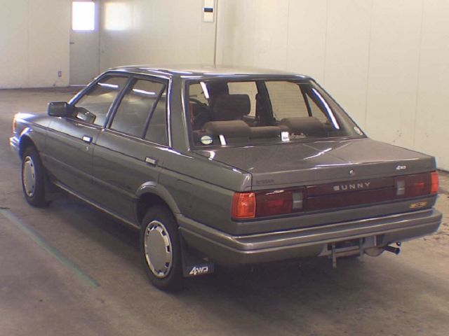 Used Tires Orlando >> Nissan Sunny RHD 1988 4WD - Classic Nissan Sentra 1980 for ...