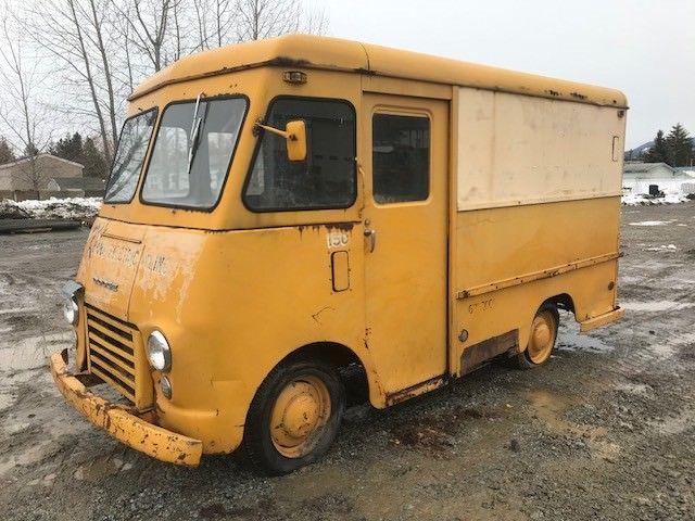 no reserve 1956 dodge delivery van us postal delivery truck stepvan ratrod classic dodge. Black Bedroom Furniture Sets. Home Design Ideas